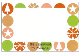 Christmas Dot Border - NEW