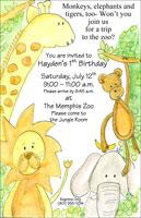 Zoo invite