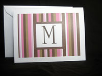 Custom Printed Initial Notes