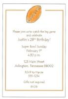 Football invite