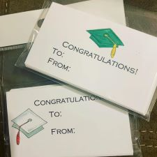 Graduation Enclosure Cards
