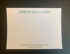 Graduation Name Notes Flat Masculine