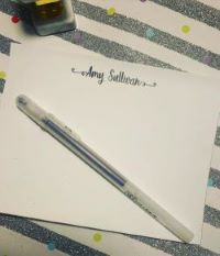 Note Cards - Flat with Swirl Font (NEW)