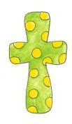 Lime/Yellow Cross